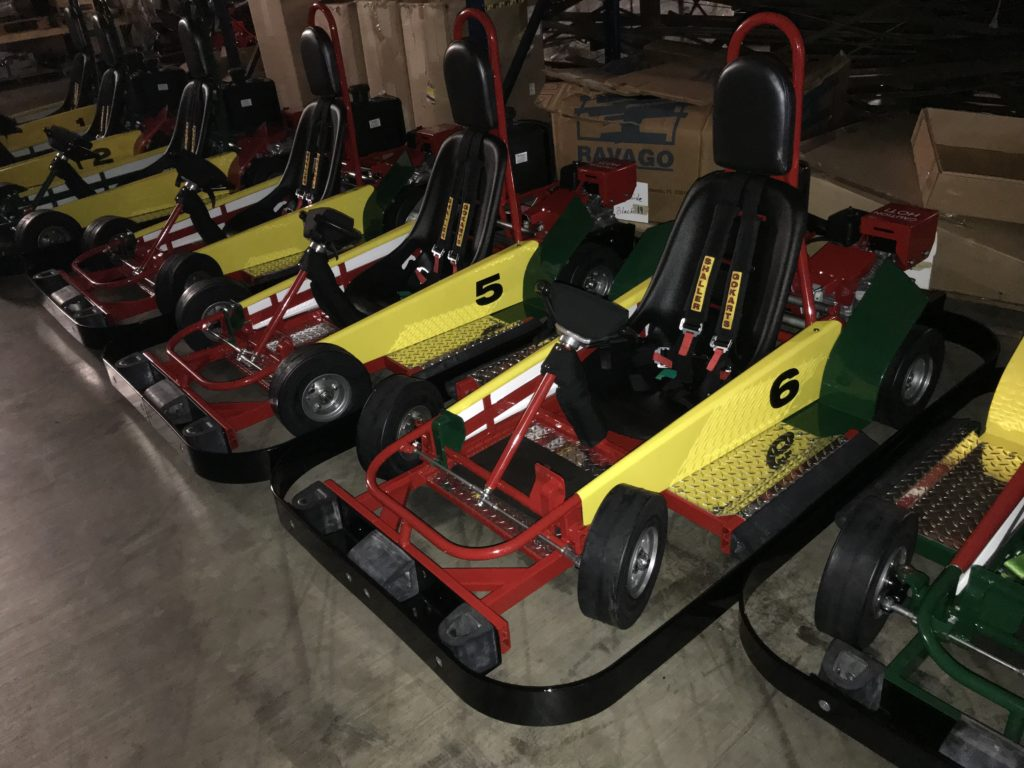 Karts the Color of the Ethiopian Flag
